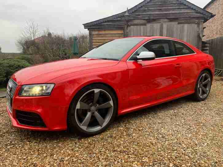 2010 RS5 10 months MOT well specified