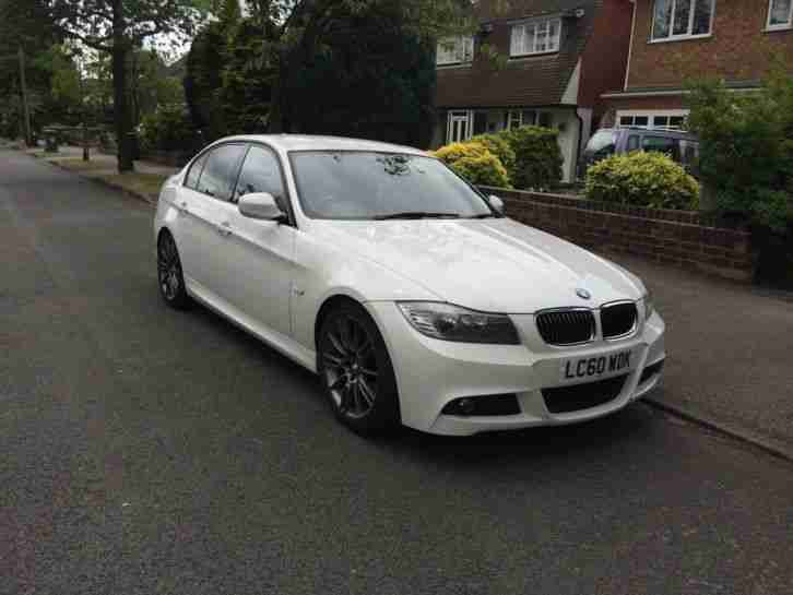 bmw 2010 320d sport plus edition lci white full leather full dealer. Black Bedroom Furniture Sets. Home Design Ideas