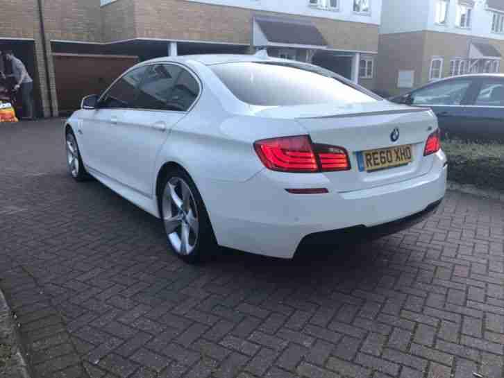 BMW 520D se M Sport WHITE F10 530d gt 730d 320d audi a6 a4 mercedes e220
