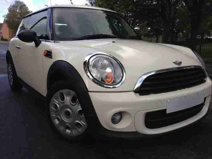 2010 BMW MINI ONE HATCH 1.6 DIESEL ONLY 1 OWNER F.S.H EXCELLENT CONDITION