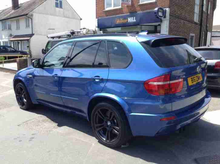 2010 BMW X5 M TURBO AUTO BLUE (VERY RARE CAR)