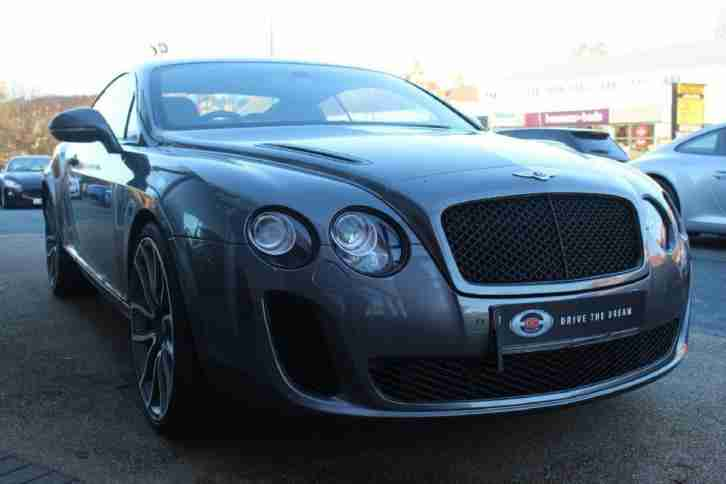 2010 Bentley Continental 6.0 Supersports 2dr