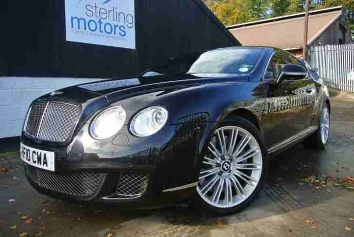 2010 Bentley Continental GT 6.0 W12 Speed 2dr Auto 2 door Coupe