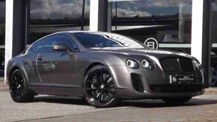 2010 Bentley Continental GT 6.0 W12 Supersports 2dr Auto