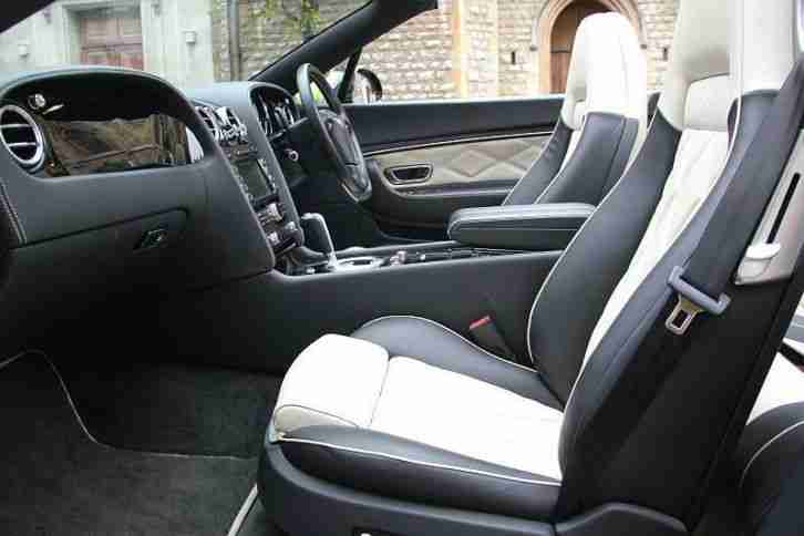 2010 Bentley Continental GTC Series 51 Petrol Black Automatic