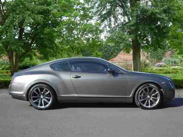 2010 Bentley Continental SUPERSPORTS Petrol grey Automatic