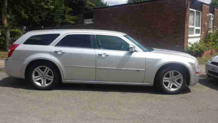 Chrysler 2010 300c Crd Auto Silver 3 0 V6 Leatehr Estate