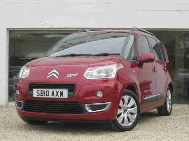 citroen 2010 c3 picasso picasso exclusive hdi diesel red manual car for sale. Black Bedroom Furniture Sets. Home Design Ideas