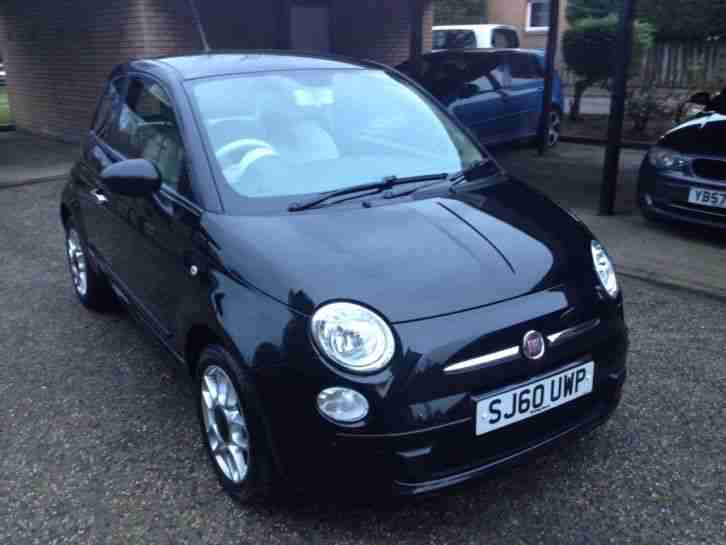 2010 FIAT 500 1.2 POP only 52,000mls 1 years mot Stunning condition