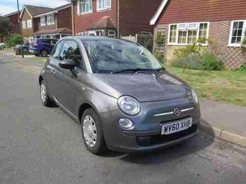 Fiat 2010 500 POP GREY. car for sale