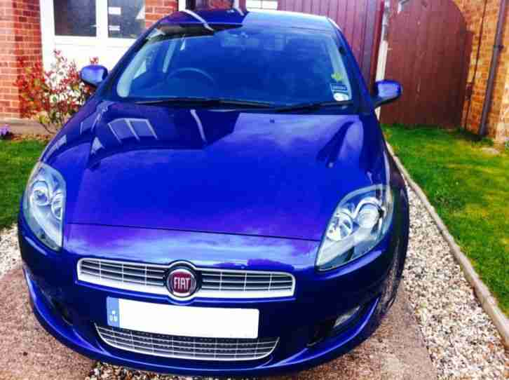 2010 FIAT BRAVO SPORT MULTIJET 165 MET BLUE (low miles & price)