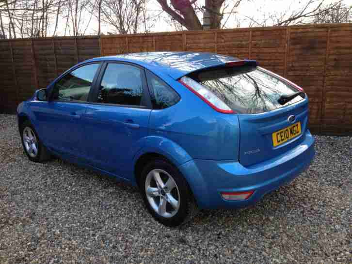 2010 FORD FOCUS ZETEC 100 BLUE