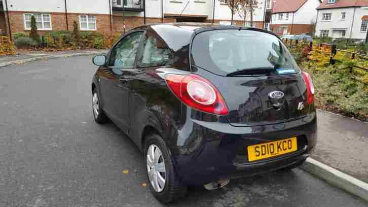 2010 FORD KA 1.3 EDGE - 1 OWNER & LOW MILEAGE 65450 (NO RESERVE)