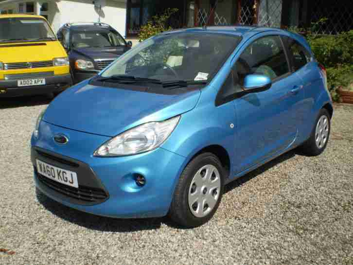 Ford 2010 Ka Edge Blue Car For Sale