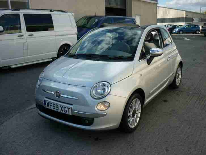 2010 Fiat 500C 1.2 LOUNGE Finance Available
