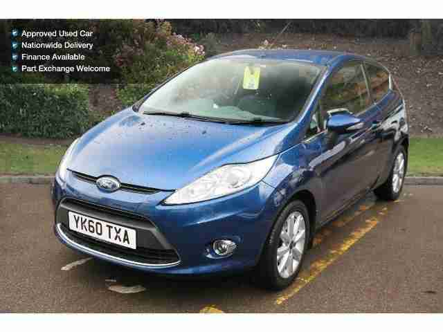 ford 2010 fiesta 1 4 tdci zetec 3dr diesel hatchback car for sale. Black Bedroom Furniture Sets. Home Design Ideas