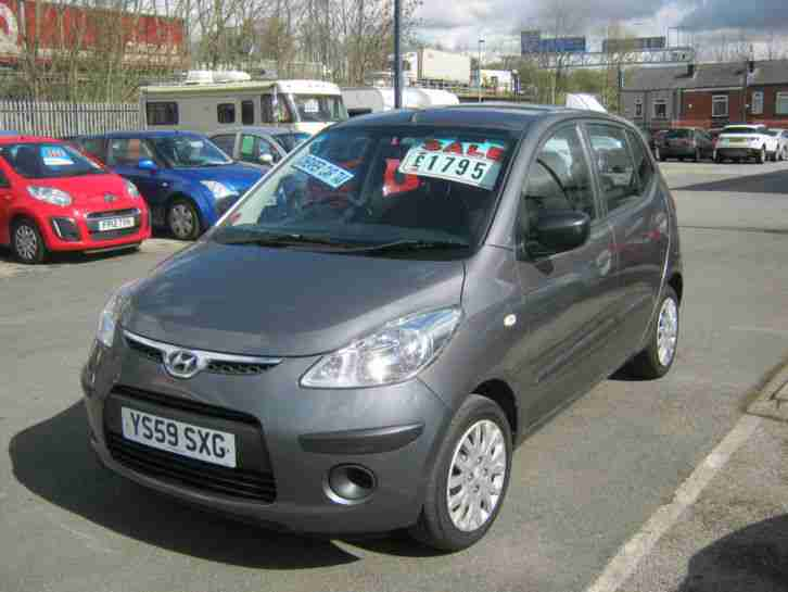 2010 HYUNDAI I10 CLASSIC GREY, ONLY £30 YEARLY TAX