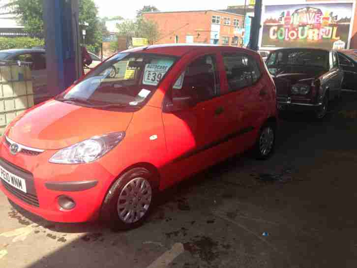 2010 I10 CLASSIC RED £3495 REDUCED