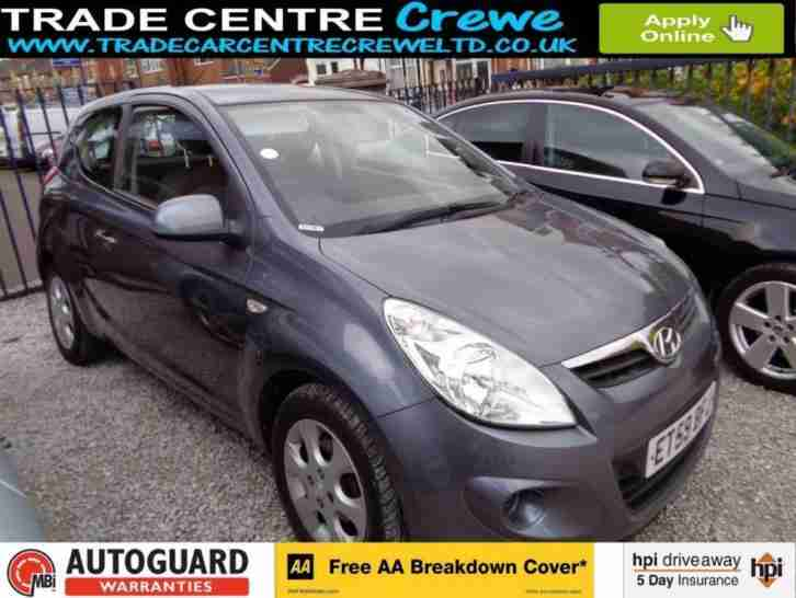 Hyundai 2010 I20 1 2 Comfort Petrol Manual Car Finance