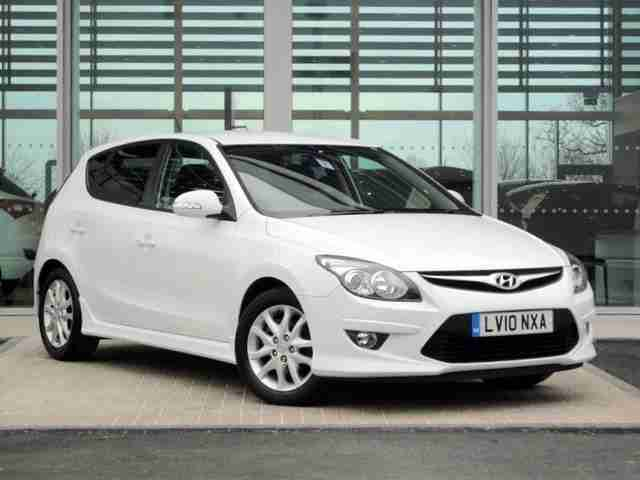 2010 Hyundai I30 1.6 CRDi Edition 5dr Diesel Manual