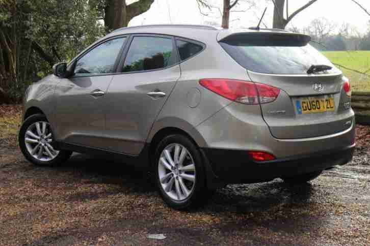 2010 Hyundai iX35 2.0 CRDi Premium 5dr Manual Diesel Estate