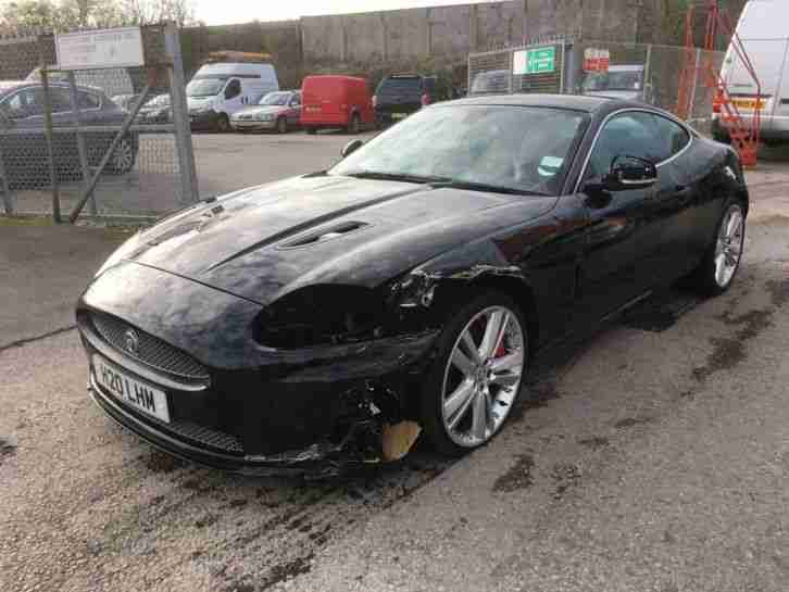 2010 JAGUAR XKR COUPE 5.0 DAMAGED REPAIRABLE SALVAGE