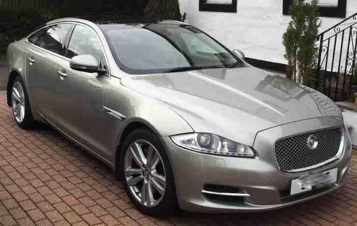 Jaguar 2010 Xj D V6 Premium Luxury Swb Diesel Gold Automatic Car