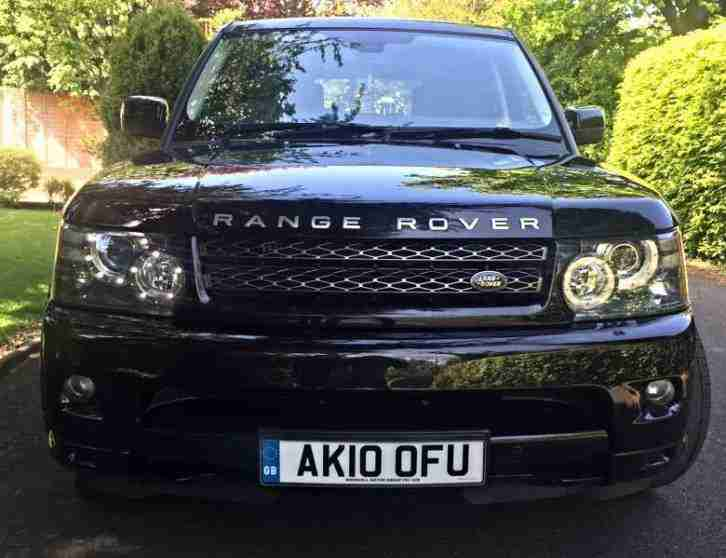 2010 LAND ROVER RANGE ROVER SPORT HSE TDV6 BLACK EDITION, TOP SPEC, UK DELIVERY