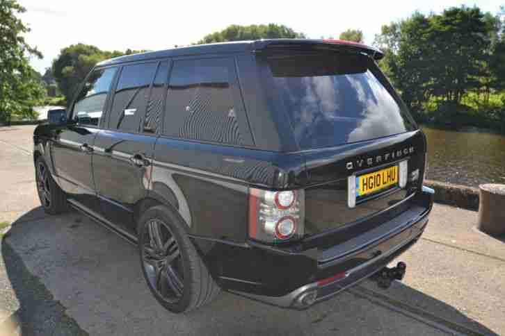 2010 land rover range rover vogue tdv8 a black overfinch gt holland. Black Bedroom Furniture Sets. Home Design Ideas