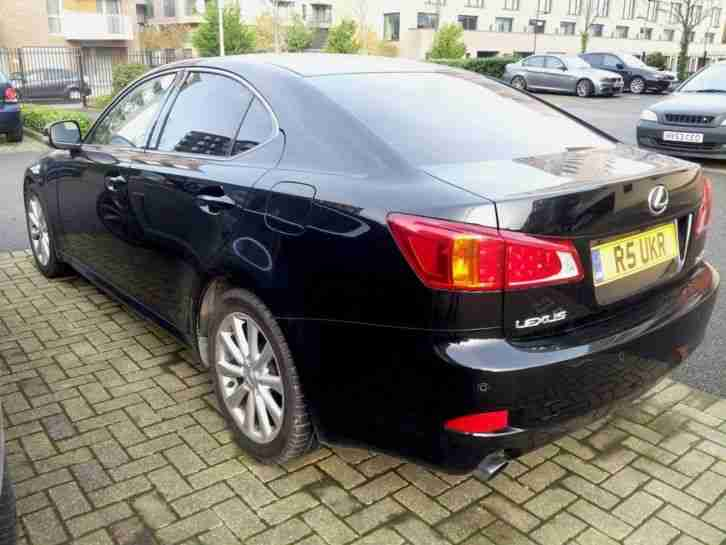 2010 LEXUS IS 250 SE-I AUTO BLACK. Mint condition.