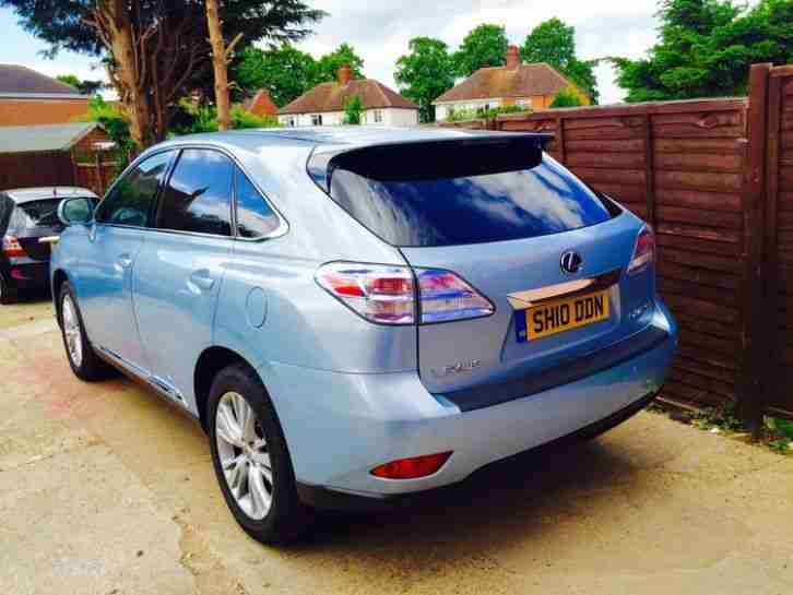 lexus 2010 rx 450h se i cvt 4x4 blue hybrid full history 2 f car for sale. Black Bedroom Furniture Sets. Home Design Ideas