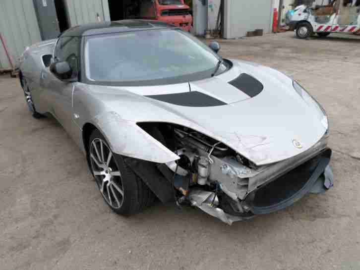 lotus 2010 evora 3 5 v6 276hp category d cat d damaged. Black Bedroom Furniture Sets. Home Design Ideas