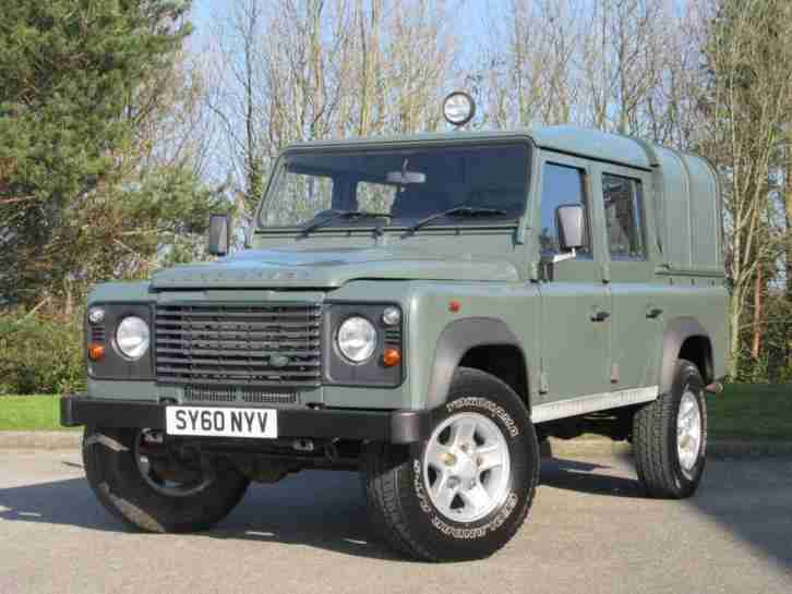 2010 Land Rover Defender 110 2.4 TDi Double