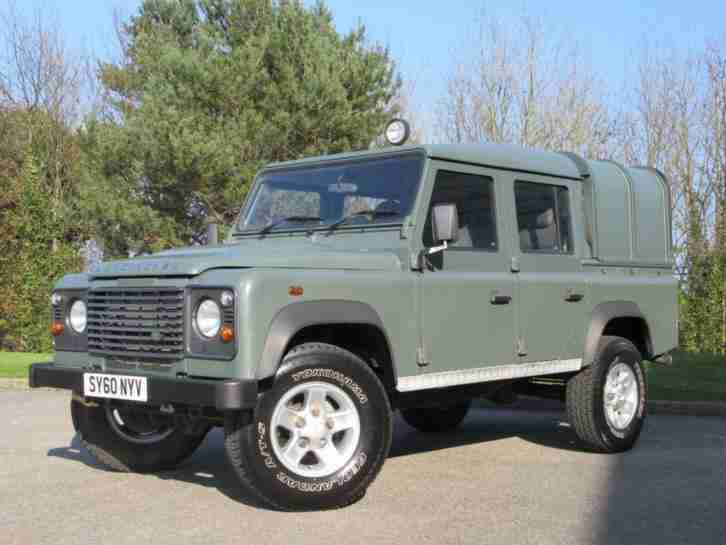 2010 Land Rover Defender 110 2.4 TDi Double Cab Pickup 4dr Diesel Manual