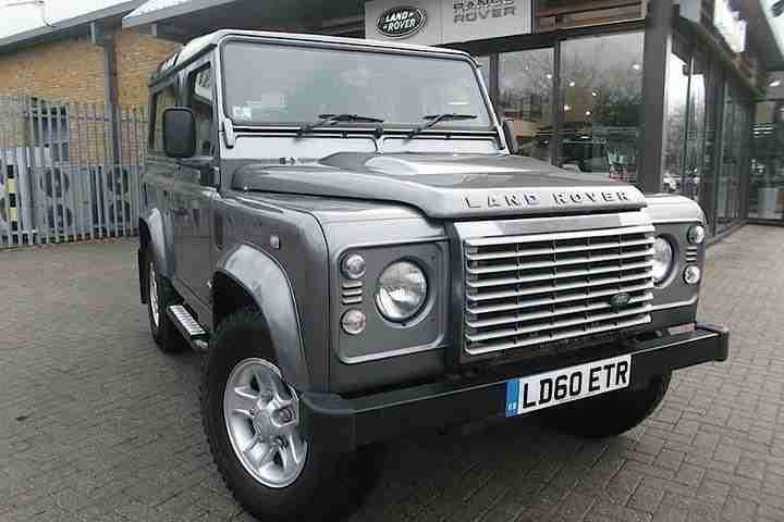 2010 land rover defender 90 xs td diesel grey manual car for sale. Black Bedroom Furniture Sets. Home Design Ideas