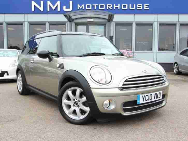 2010 MINI CLUBMAN 1.6 Cooper D 5dr REAR PARKING SENSOR, BLUETOOTH Manual Estate