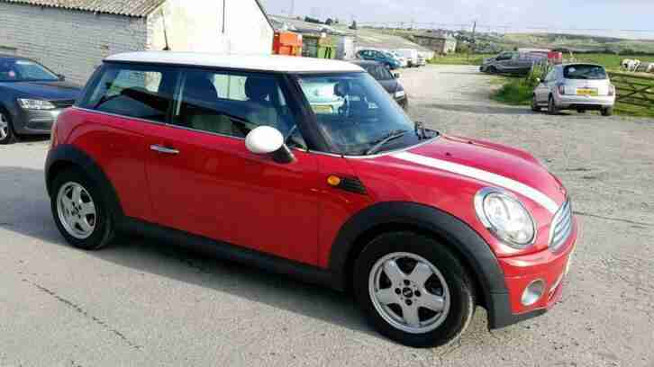 2010 MINI COOPER D 1.6 DIESEL 3 DOOR HATCHBACK RED