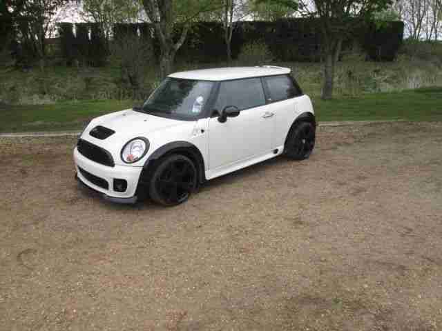 2010 MINI FIRST 1.6 JCW JOHN COOPER S WORKS LCI SPEC 12k miles DAMAGED SALVAGE