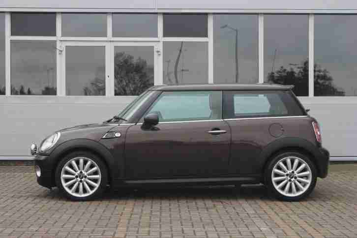 2010 MINI HATCH COOPER MAYFAIR Petrol Brown Manual