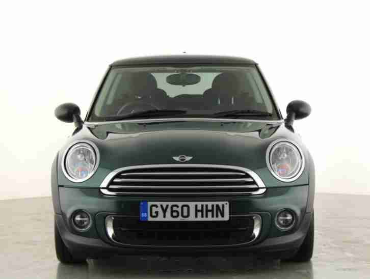 2010 MINI HATCHBACK 1.6 One 3dr Petrol green Manual