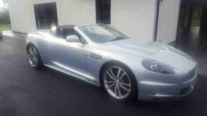 2010 MY ASTON MARTIN DBS 6.0 V12 VOLANTE CARBON EDITION IN LIGHTNING SILVER