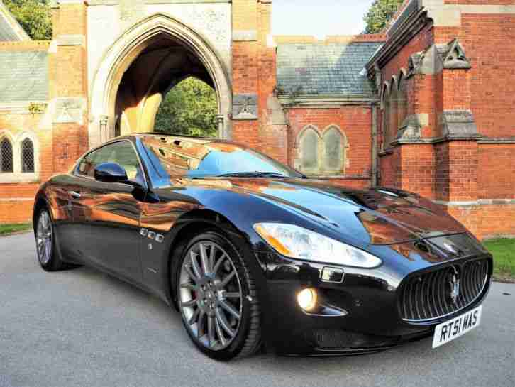 Maserati Granturismo. Maserati car from United Kingdom