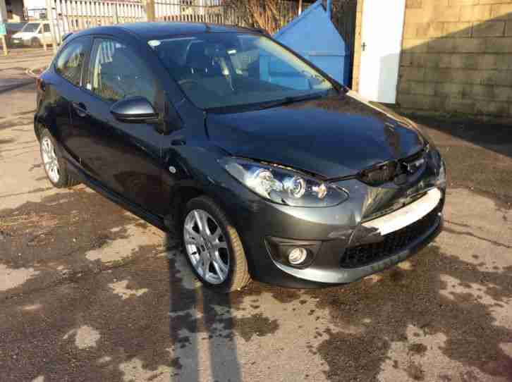 2010 Mazda 2 1.5 Sport Damaged Repairable Salvage