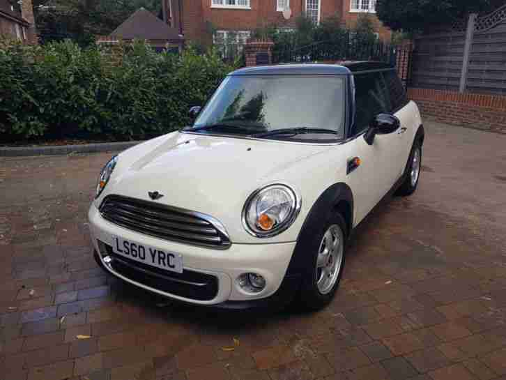 2010 Mini Cooper 1.6 stop start .1 owner Very low miles..Full BMW History