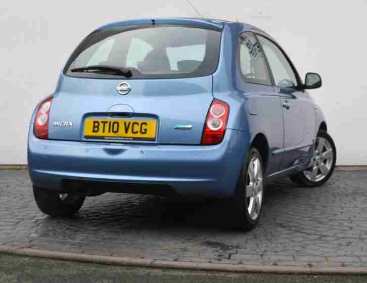 nissan 2010 micra 1 5 dci 86 n tec satellite navigation car for sale. Black Bedroom Furniture Sets. Home Design Ideas