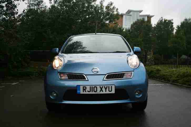 nissan 2010 micra n tec blue car for sale. Black Bedroom Furniture Sets. Home Design Ideas