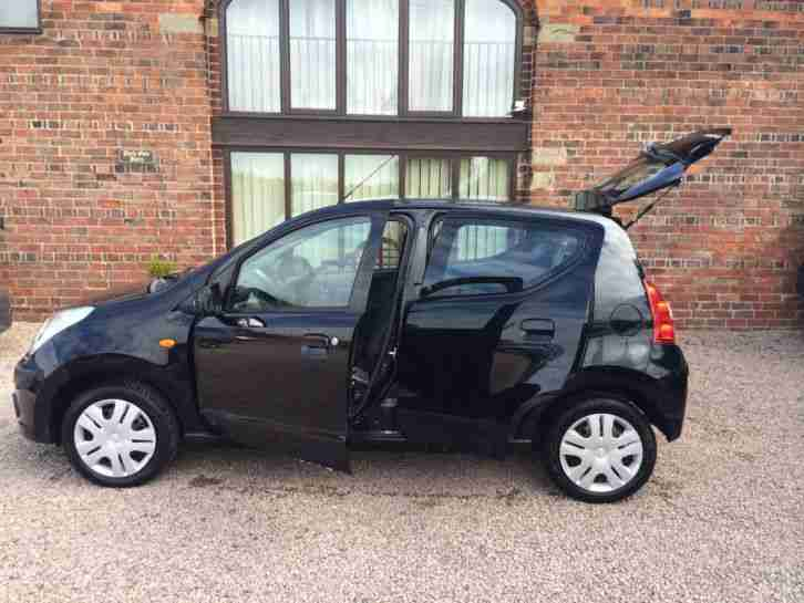 2010 NISSAN PIXO N TEC 5 DOOR, LOW INSURANCE, ONLY £20 YEAR TAX, S HISTORY