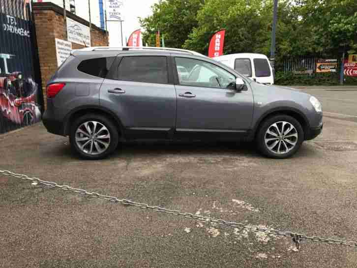 2010 NISSAN QASHQAI +2 TEKNA AUTOMATIC DCI 4WD, WARRANTY INCLUDED, 7 seater