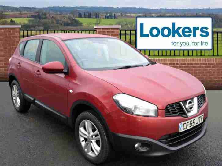 2010 Nissan Qashqai 1.5 dCi Acenta 5dr Diesel red Manual