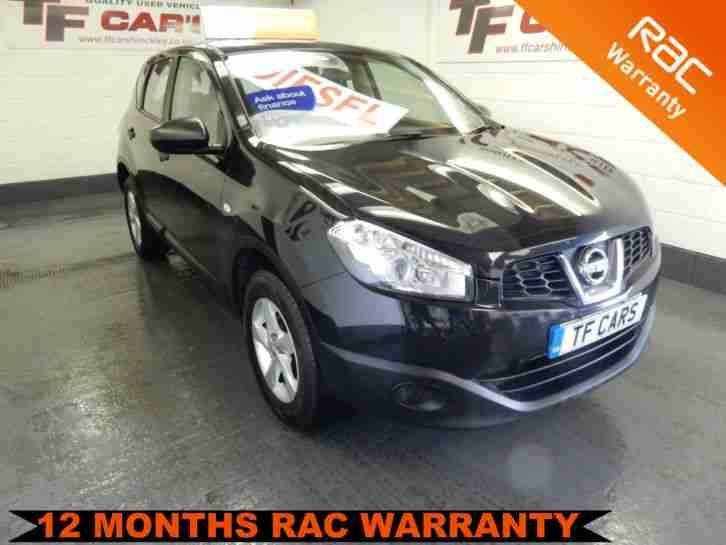 2010 Nissan Qashqai 1.5dCi 2WD Visia FINANCE AVAILABLE AT LOW RATES!